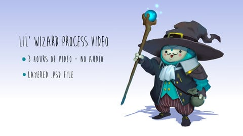 Lil' Wizard Character Concept Process Video