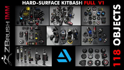 Kitbash Hard-Surface Full V1