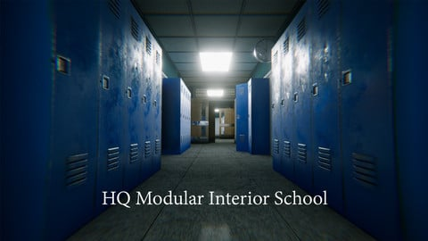 HQ Modular Interior School