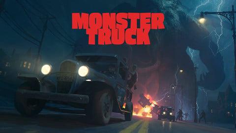Monster Truck - PSD