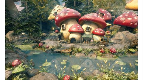 Mushroom Inn PNG Format