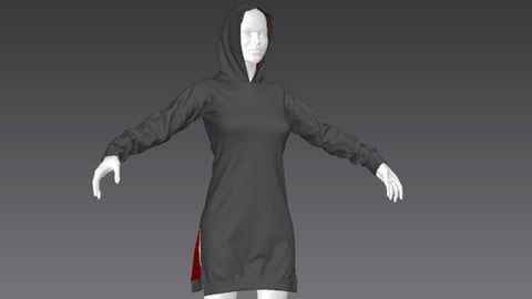 Clothes for Marvelous Designer: Pullover02