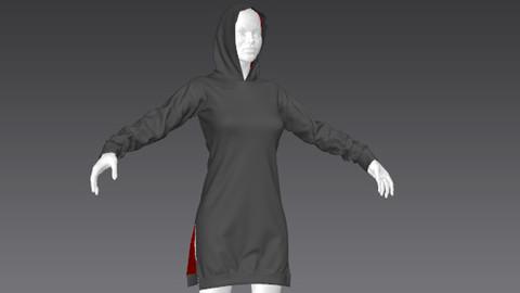Clothes for Marvelous Designer: Pullover02