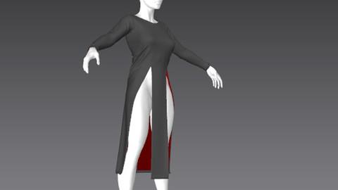 Clothes for Marvelous Designer: Shirt02