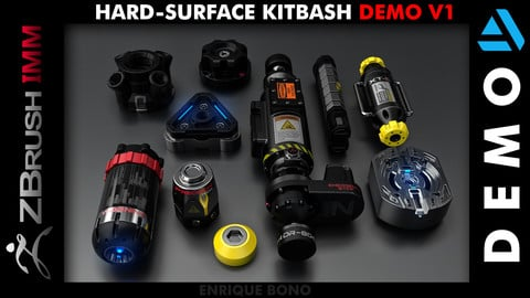 Kitbash Hard-Surface DEMO V1