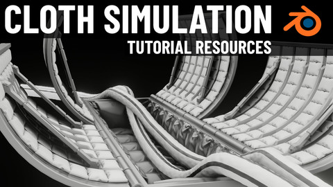 Blender Cloth Simulation (Tutorial Resources)
