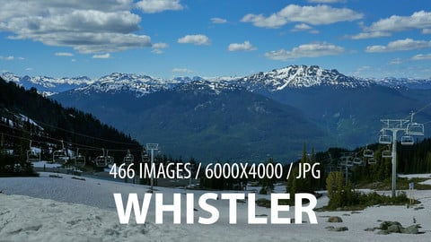 Whistler - Matte Painting reference pack