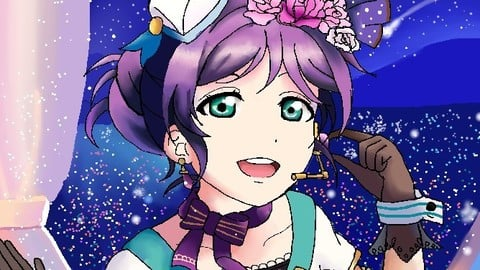 Nozomi Tojo from Love Live!