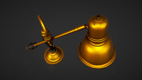 Desk Lamp - PBR