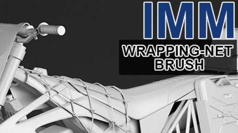 Insert-Multi-Mesh Brush - Wrapping Net - Zbrush IMM