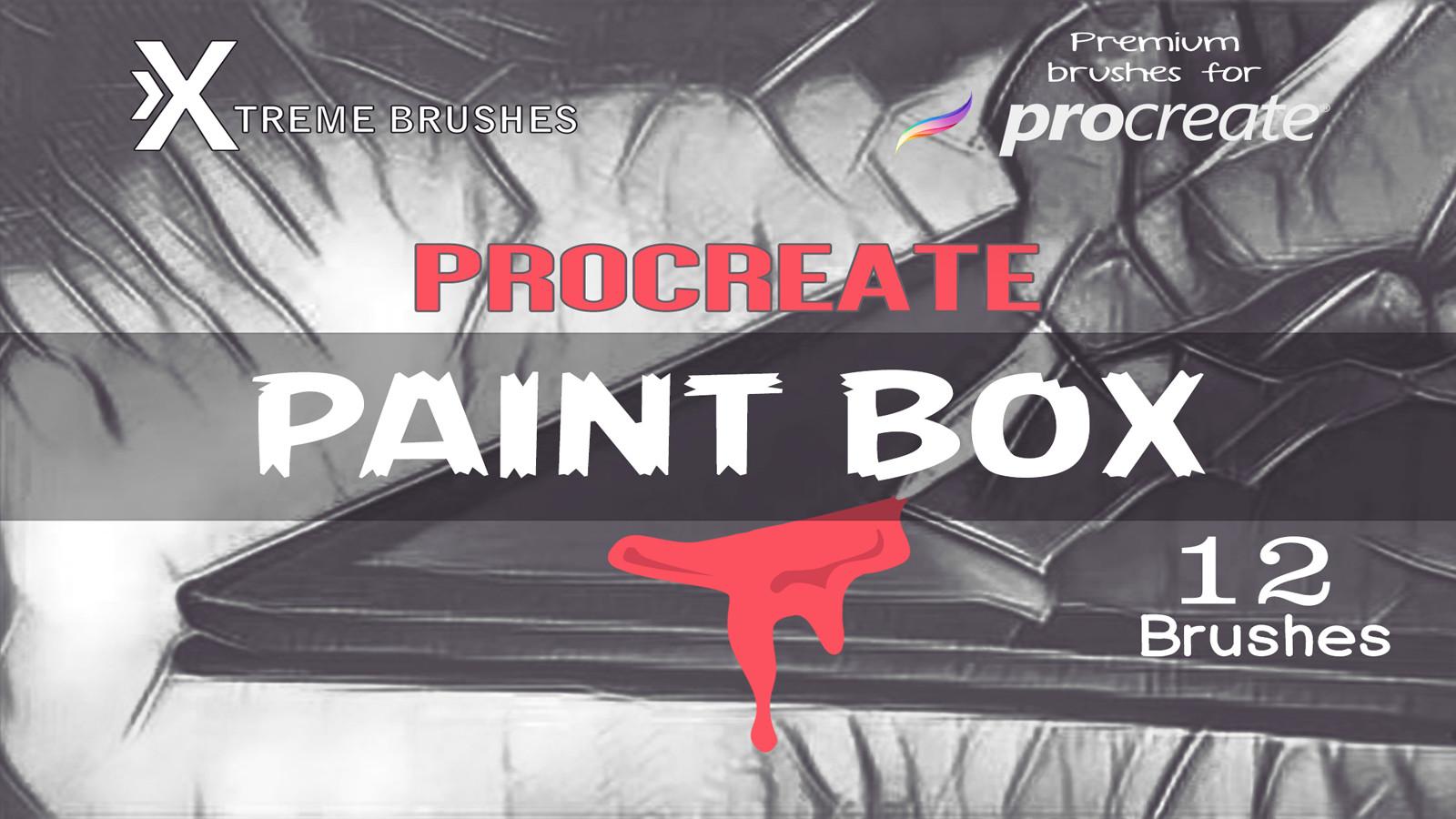 Rodd Lopes - Procreate PaintBox!