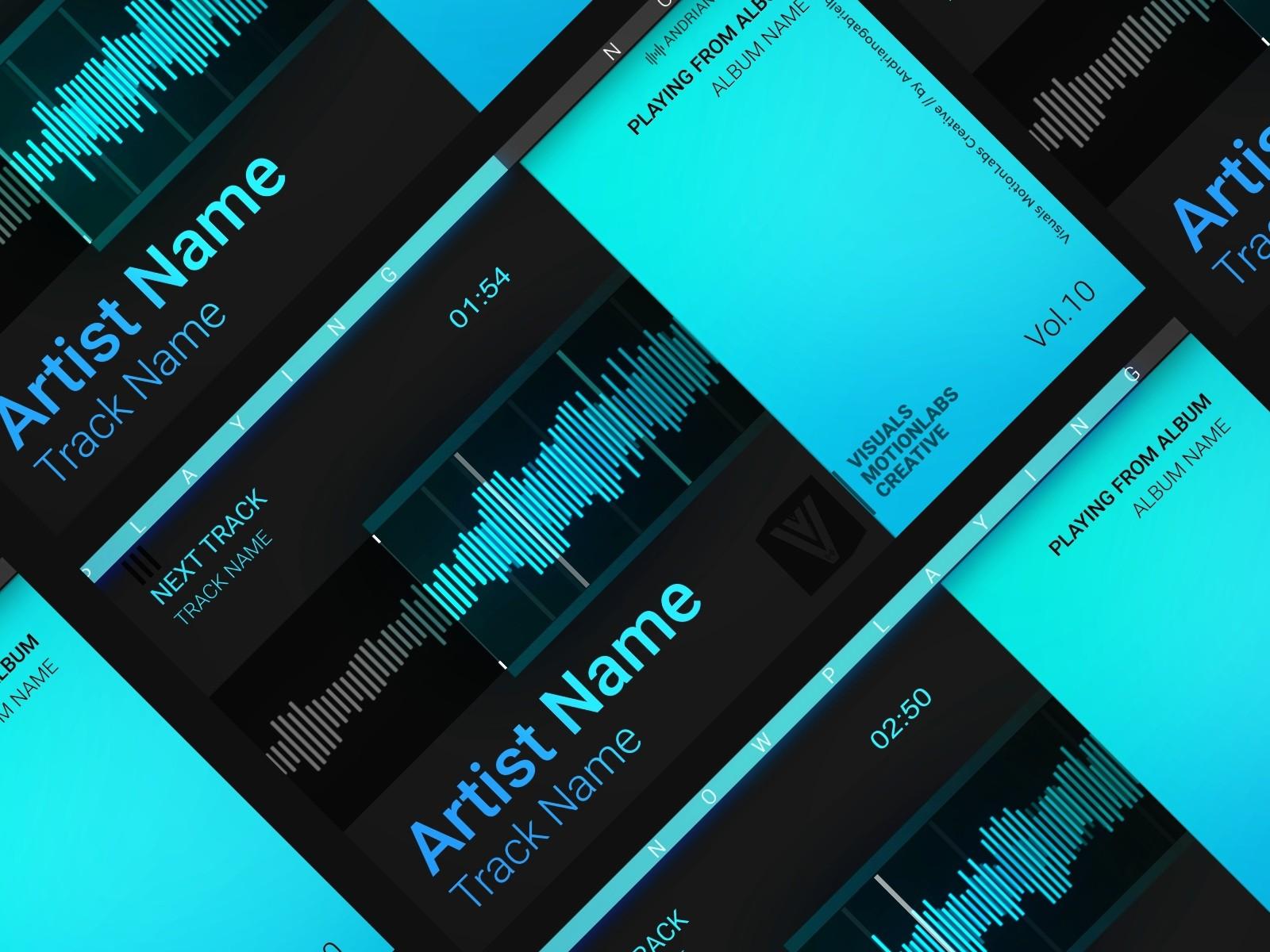 Audio Spectrum / Music Visualizer Concept S10 (Waveform Digital) by Gabriel  Andriano B  (Andrianogabrielb)