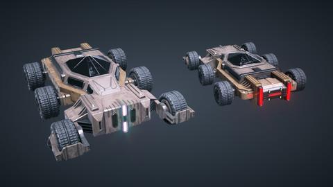 Mars KitBash - Vehicle