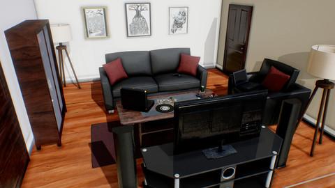 Asset Pack | Living Room