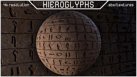 HIEROGLYPHS | MATERIAL