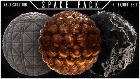 SPACE PACK | 3 MATERIALS
