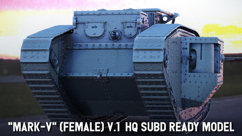 "HQ SUBD ready model of ""MARK-V"" (female) V.1"