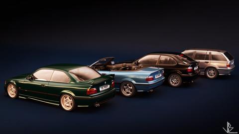 BMW E36 Series models