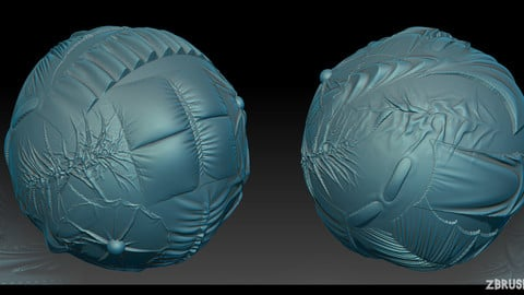 Zbrush Alphas cloth