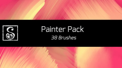 Shrineheart's Painter Pack - 38 Brushes