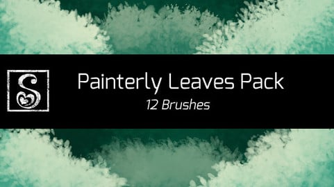 Shrineheart's Painterly Leaves - 12 Brushes