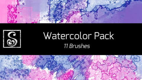 Shrineheart's Watercolor Pack - 11 Brushes