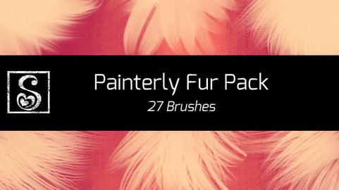Shrineheart's Painterly Fur - 27 Brushes