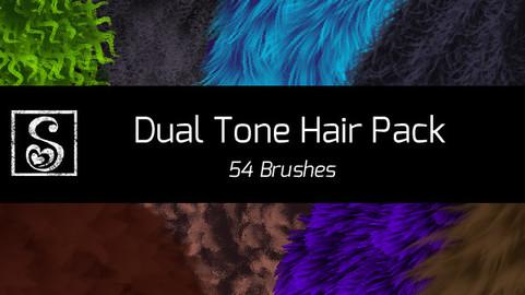 Shrineheart's Dual Tone Hair - 54 Brushes