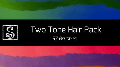 Shrineheart's Two Tone Hair - 37 Brushes