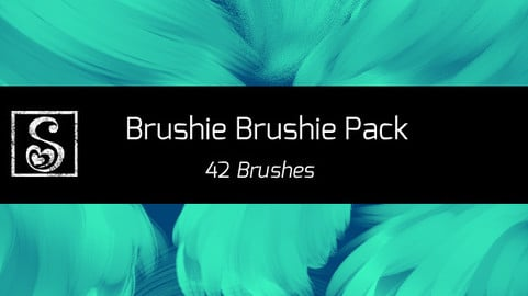 Shrineheart's Brushie Brushie Pack - 42 Brushes