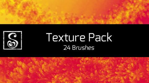 Manga Studio Texture Pack - 24 Brushes