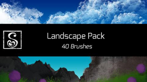 Shrineheart Landscape Pack - 40 Brushes