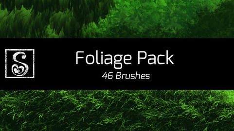Shrineheart's Foliage Pack - 46 Brushes