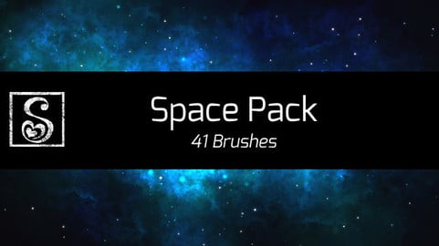 Shrineheart's Space Pack - 41 Brushes