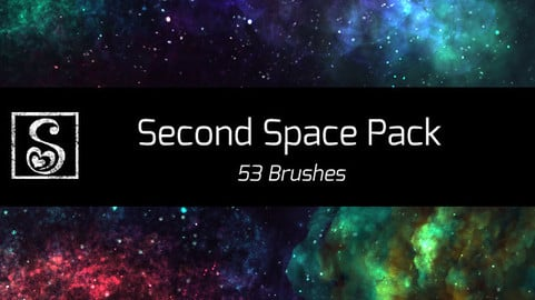 Shrineheart's Second Space Pack - 53 Brushes