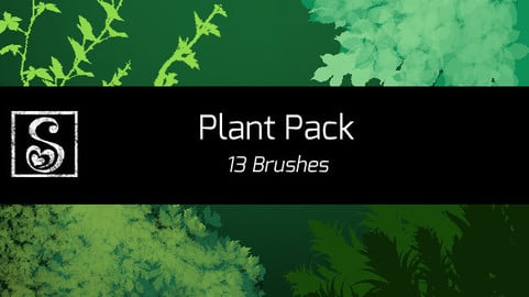 Shrineheart's Plant Brushes - 13 Brushes