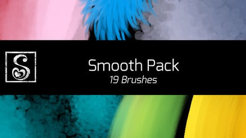 Shrineheart's Smooth Pack - 19 Brushes