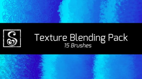 Shrineheart's Texture Blending - 15 Brushes