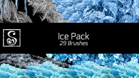Shrineheart's Ice Pack - 29 Brushes