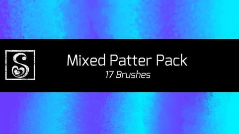 Shrineheart's Mixed Patter Pack - 17 Brushes