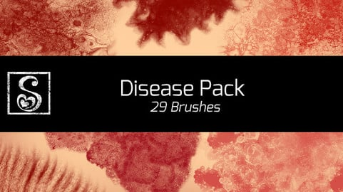 Shrineheart's Disease Pack - 29 Brushes