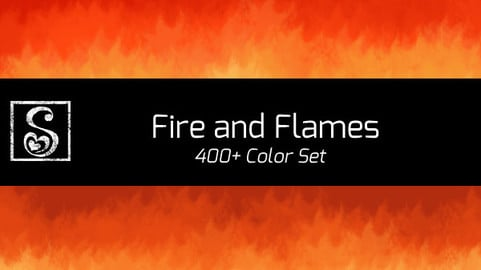 Shrineheart's Fire and Flames Colors