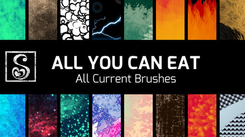 All You Can Eat - All Current Brushes