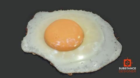 Procedural Fried Egg - Substance Designer