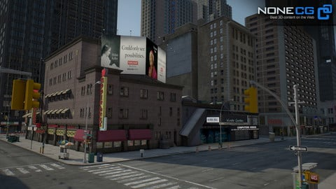 NYC Broadway – 7th Avenue set 2