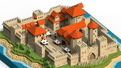 Voxel Castle