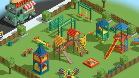 Kids Playground Games