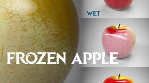 Apple (standart,wet,frozen types with .sbsar)