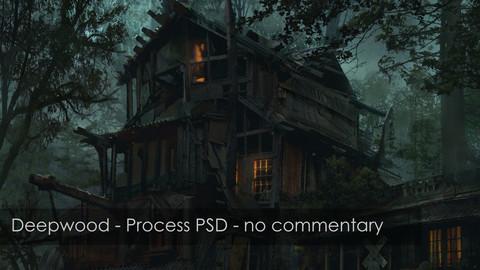 Post-Apocalyptic Deepwood - Process PSD