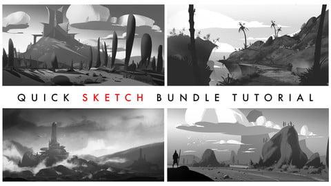 Quick Sketch Tutorial Bundle